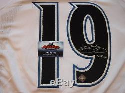 Joe Sakic Signed Colorado Avalanche Inscribed HOF'12Jersey-Hockey Ink