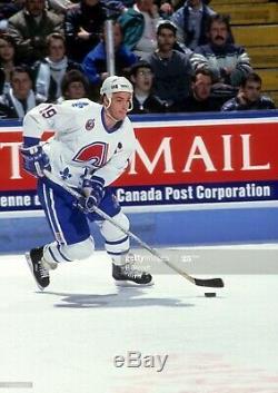 Joe Sakic Signed Quebec Nordiques CCM Original Jersey Beckett Coa S98321 Large