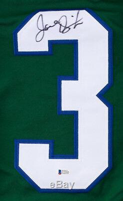 Joel Quenneville Signed Hartford Whalers Jersey (Beckett) BlackhawksCoach Q