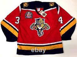 John Vanbiesbrouck Signed Florida Panthers 1996 Cup CCM Red Jersey Insc Psa Coa
