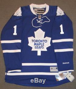 Johnny Bower Signed Toronto Maple Leafs Licensed NHL Reebok Jersey & Proof + Coa
