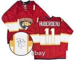 Jonathan Huberdeau Autographed Florida Panthers Jersey Beckett COA