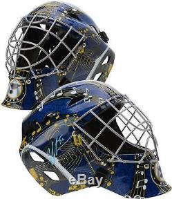 Jordan Binnington St. Louis Blues Autographed Replica Goalie Mask
