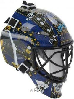 Jordan Binnington St. Louis Blues Signed Mini Goalie Mask Fanatics