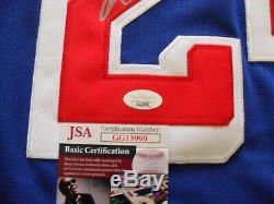 Kaapo Kakko Autographed Signed New York Rangers Jersey JSA Certified COA NICE