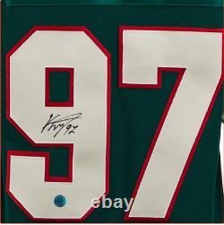 Kirill Kaprizov Minnesota Wild Autographed Adidas Authentic Pro Hockey Jersey