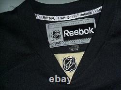 Kris Letang, Pgh Penguins, Signed Black Reebok JERSEY, Size XL withTags, JSA COA