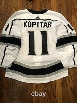 LA Kings Team Issued Made In Canada Size 52 MiC Adidas Jersey Anze Kopitar