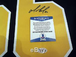 MARIO LEMIEUX Pittsburgh Penguins SIGNED Autographed JERSEY with Beckett BAS COA