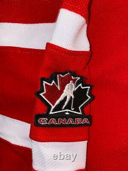 MARTIN BRODEUR signed Jersey Olympic Team Canada jersey Beckett