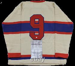 MAURICE RICHARD SIGNED Wool CCM JERSEY WithCOA Limited Very RARE autographed