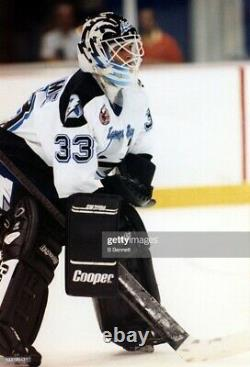 Manon Rheaume Signed CCM Tampa Bay Lightning Inscribed Jersey Psa/dna Coa Large