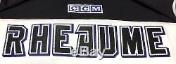 Manon Rheaume Signed Tampa Bay Lightning CCM Jersey Cup 100 Psa Coa Aa52191