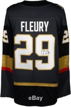 Marc-Andre Fleury Vegas Golden Knights Signed Black Fanatics Breakaway Jersey