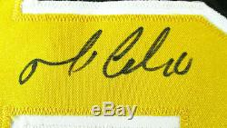 Mario Lemieux / NHL Hall Of Fame / Autographed Pittsburgh Penguins Jersey / Coa