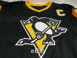 Mario Lemieux Signed Penguins Jersey / Playing career (19841997 20002006) COA
