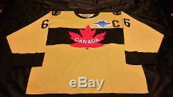 Mario Lemieux Signed Team Canada Falcons Jersey RPM COA! PrivateSigning RARE