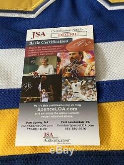 Martin Brodeur Autographed/Signed Jersey JSA COA St Louis Blues