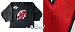Martin Brodeur Devils signed game used Joffa goalie practice jersey auto PSA COA