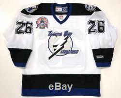 Martin St. Louis Signed Tampa Bay Lightning 2004 Cup Jersey Beckett Coa M60560