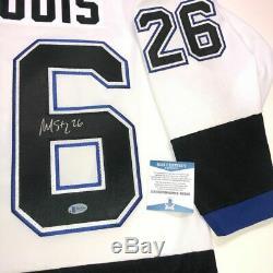 Martin St. Louis Signed Tampa Bay Lightning 2004 Cup Jersey Beckett Coa M60568