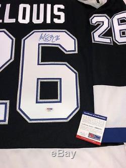 Martin St. Louis Signed Tampa Bay Lightning 2004 Stanley Cup Koho Jersey Psa Coa