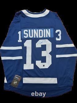 Mats Sundin signed autograph Toronto Maple Leafs jersey