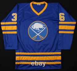 Matthew Barnaby Signed Buffalo Sabres Jersey (JSA COA)