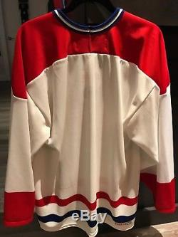 Maurice Richard Hand Signed Montreal Canadiens Habs Jersey Autographed Ken