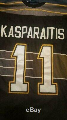 Mens CCM XXL Pittsburgh Penguins #11 Darius Kasparaitis jersey