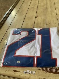 Mike Eruzione Autographed/Signed Jersey LEAF Authentics Team USA