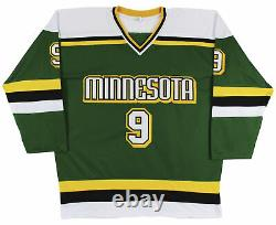 Mike Modano Authentic Signed Green Pro Style Jersey Autographed BAS Witnessed
