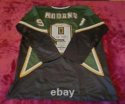Mike Modano signed autographed Dallas jersey coa BAS beckett #n67919