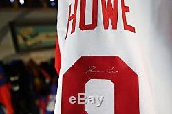 Mint Gordie Howe Autograph Signed Jersey Mr. Hockey JSA 142183 Detroit Red Wings