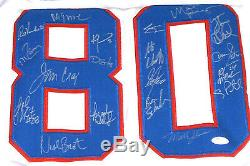Miracle On Ice 1980 USA Hockey Stat Jersey 19 Signed Craig Eruzione Olympics Jsa