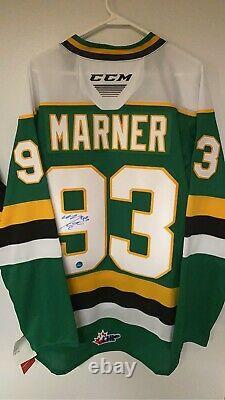 Mitch Marner London Knights Autographed CCM Replica CHL Hockey Jersey