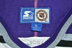 NHL Los Angeles Kings Ice Hockey Shirt Jersey Starter Size XL Adult