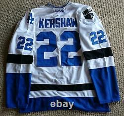 NHL MLB Replica Dodgers Hockey Jersey. Customizable. Any Size, Name, and Number