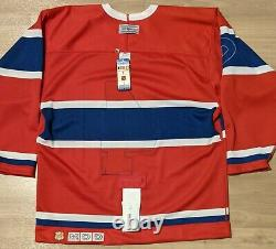 NWT AUTHENTIC Signed Jean Beliveau MONTREAL CANADIENS TBTC JERSEY CCM 48