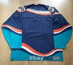 New York Islanders Fisherman CCM NHL Ice Hockey Jersey Shirt XL