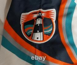 New York Islanders Fisherman Jersey Official CCM with fight strap Size 48 (New!)