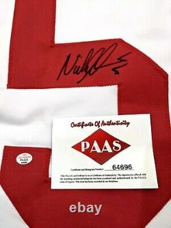 Nicklas Lidstrom Detroit Red Wings Autographed Signed Jersey XL COA