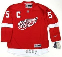 Nicklas Lidstrom Signed Detroit Red Wings Reebok Jersey Psa/dna Coa