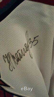 Nikolai Khabibulin autographed men's medium Phoenix Coyotes jersey