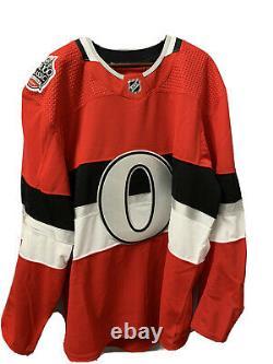 Ottawa Senators Team Issued NHL 100 Classic Jersey BNWT Size 58 Adidas MiC