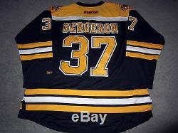 PATRICE BERGERON Boston Bruins SIGNED Autographed Home JERSEY with BAS COA New XXL