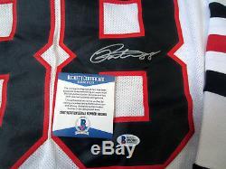 PATRICK KANE Chicago Blackhawks SIGNED Autographed JERSEY with BAS COA Medium