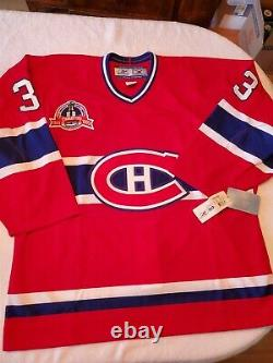 PATRICK ROY signed authentic CANADIENS jersey JSA COA SIZE 52 inscriptions