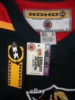 PAVEL BURE Autographed NHL KOHO Florida Panthers XL Ice Hockey Jersey 10 COA LOA