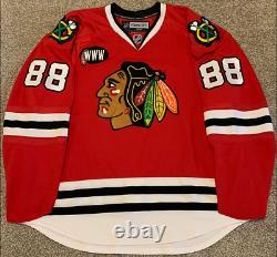 Patrick Kane Autographed Chicago Blackhawks Authentic Reebok Edge 1.0 7187 58+